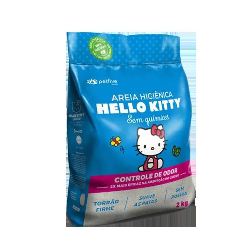 Bolsa azul con detalles rosados de Hello Kitty Azul Arena Sanitaria para gatos